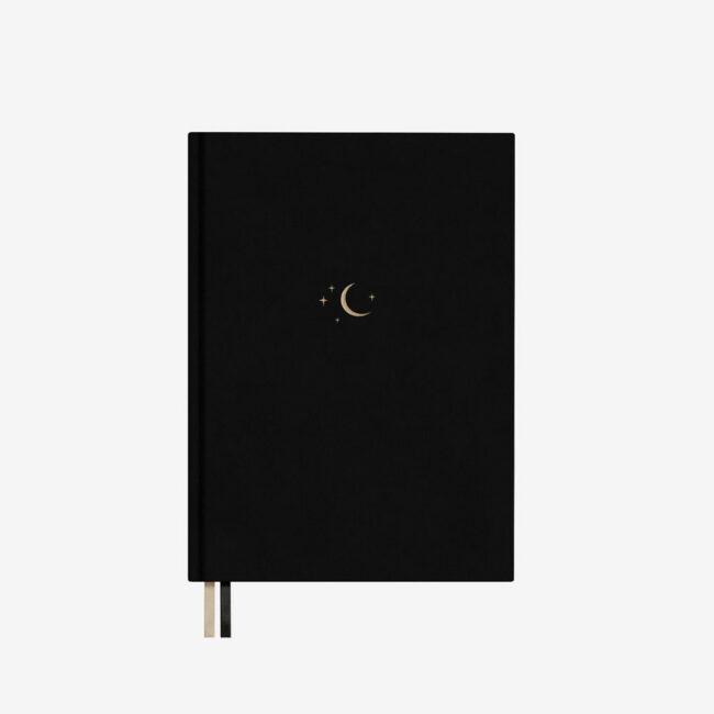 planer z księżycem bulletjournal moon