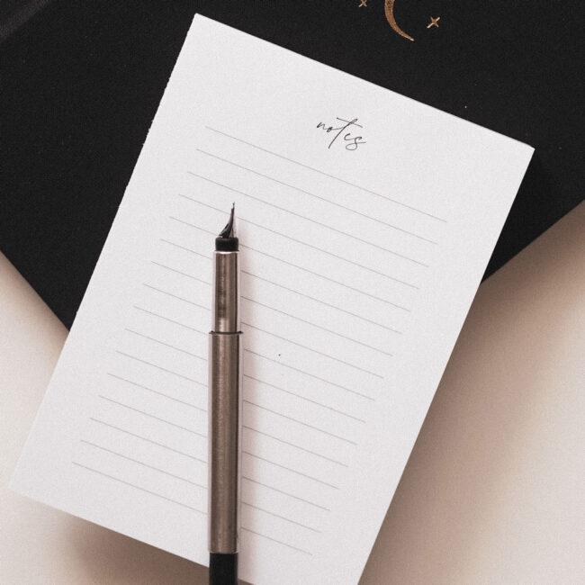 Notes w linie do biura
