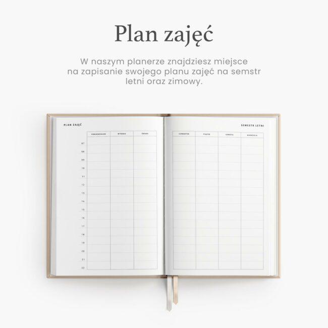 Plan zajęć akademickich