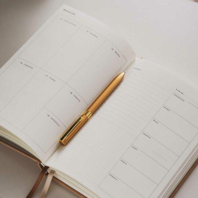 Planer akademicki tygodniowy