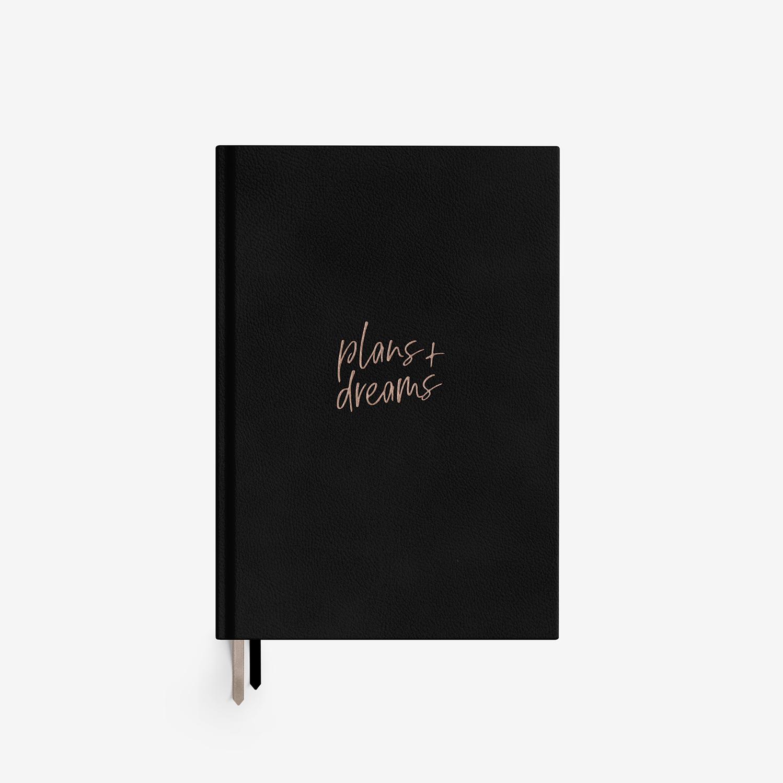Najlepszy czarny planer Plans+Dreams