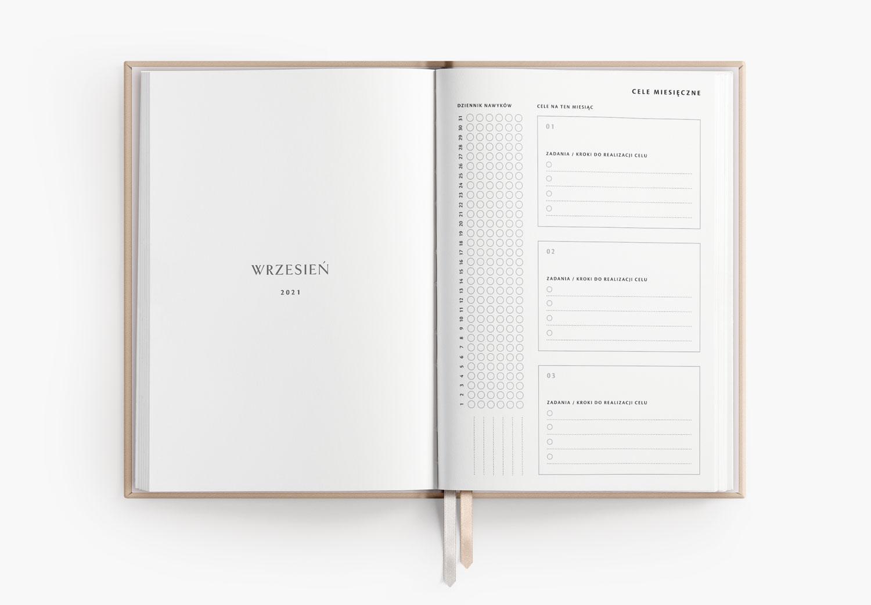 Cele miesięczne - planer akademicki