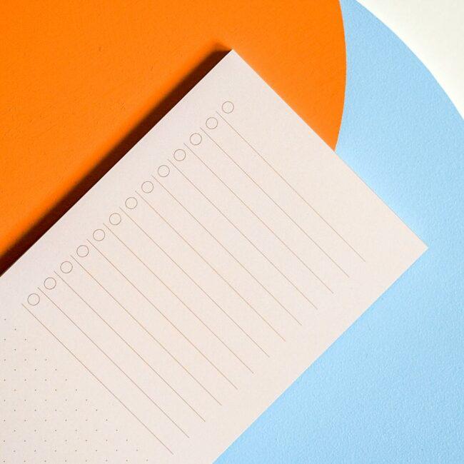 Notes lista zadań kolorowy