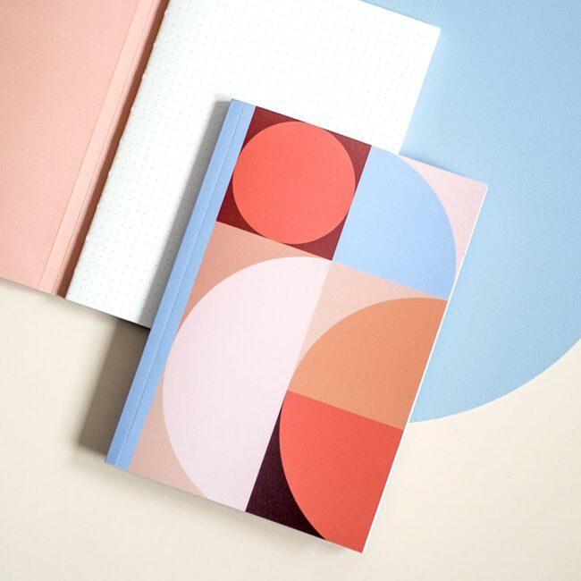 Notes geometryczny Bauhaus