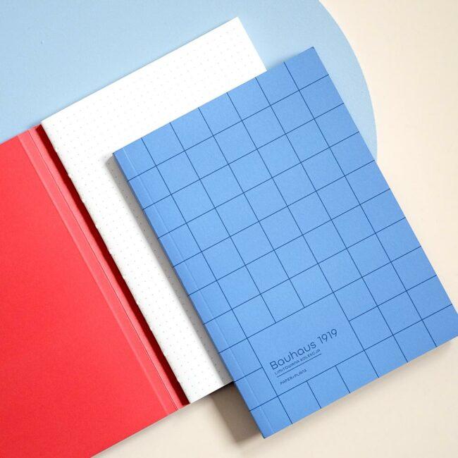 Notes w kropki niebieski