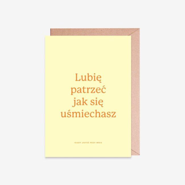 Kartka z fajnym napisem