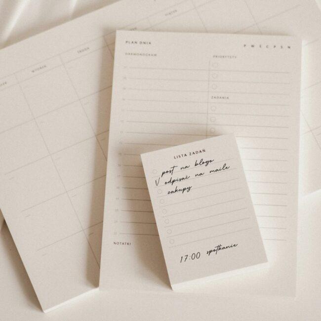 Lista zadań notes