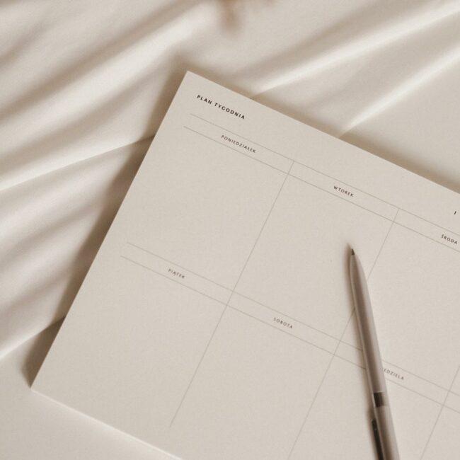 Planer tygodniowy SIMPLE