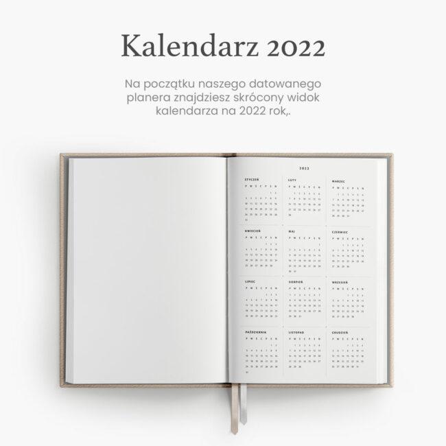 Tygodniowy kalendarz 2022