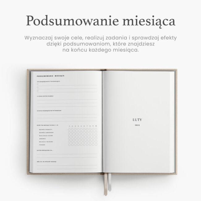 Minimalistyczny kalendarz 2022