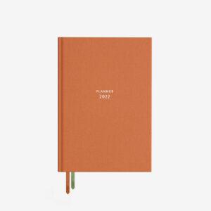 Pomarańczowy kalendarz 2022