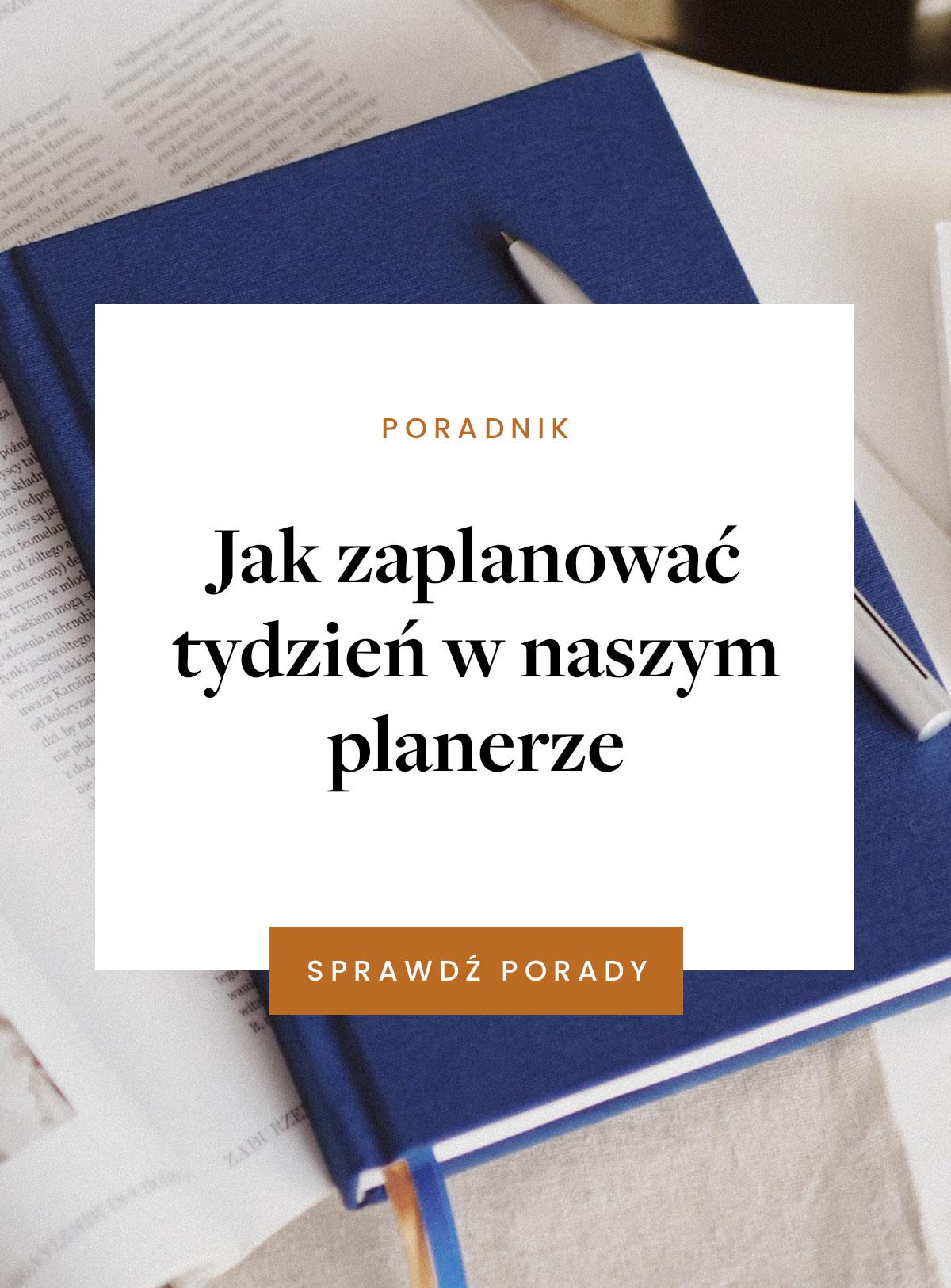 Jak zaplanować tydzień w planerze PaperPlans